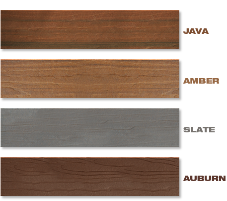 Color options for deck board colors modernview decking for Modern view decking